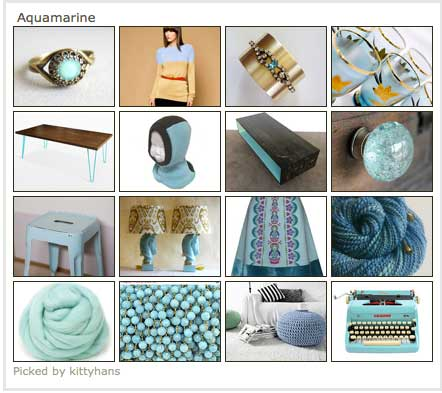 aquamarine on etsy