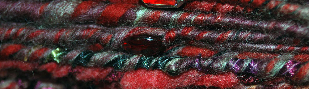 marsala art yarn bulky