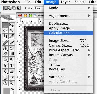 photoshop tutorial calculations