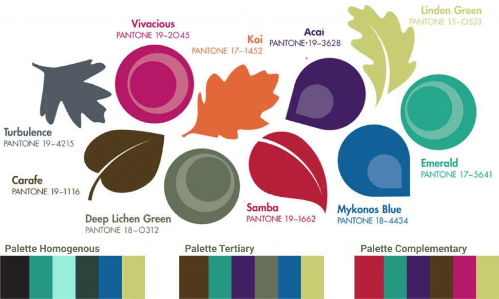 color trends palette suggestions by Graphic Designer Nancy Tranter