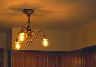 Interior Design with Restoration Moe Bridges Art Deco Chandelier