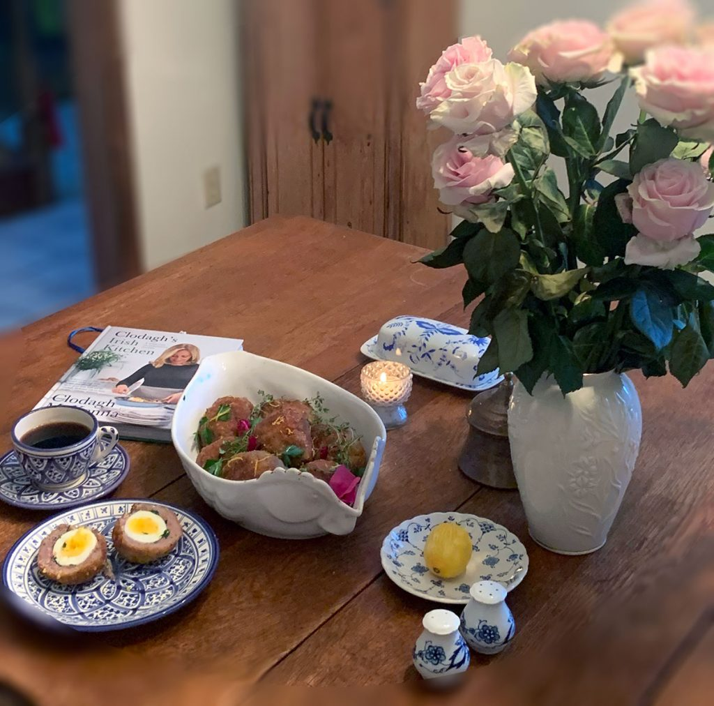 Scotch Eggs photo by Nancy Tranter