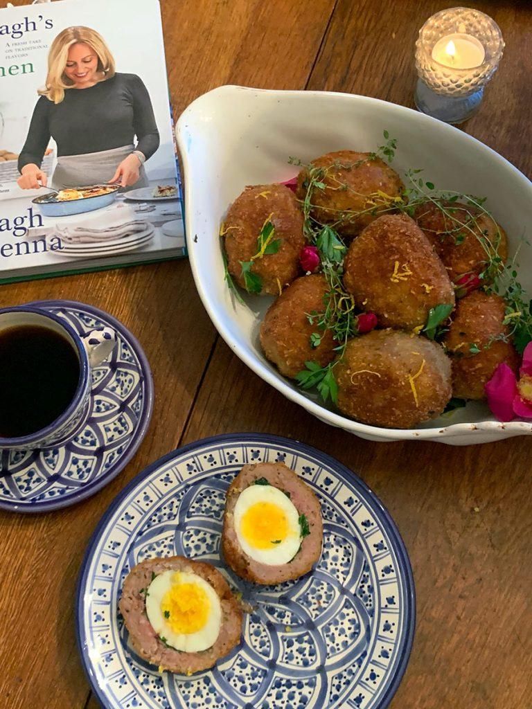 Scotch Eggs photo by Nancy Tranter recipe by Clodagh McKenna